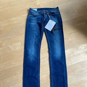 "Dondup jeans ""Dionis"" BNWT straight leg sz 26"